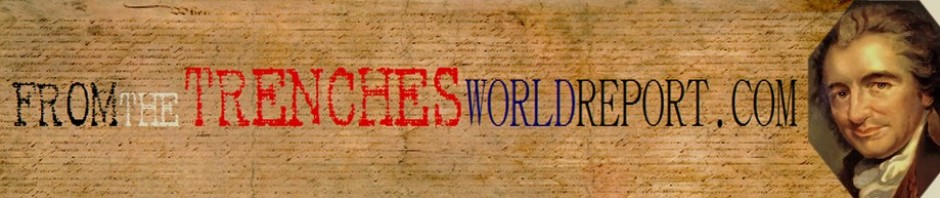 Custom header for From the Trenches World Report